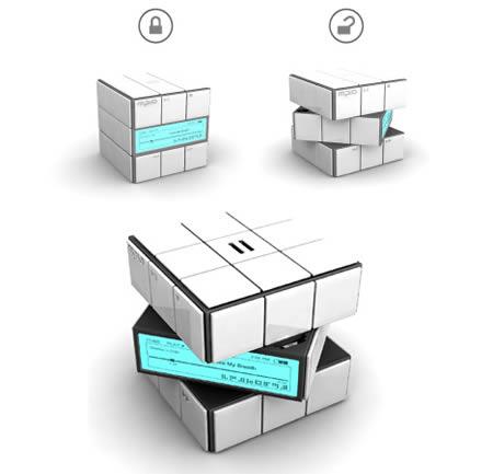 Кубик Рубика mp3-плеер