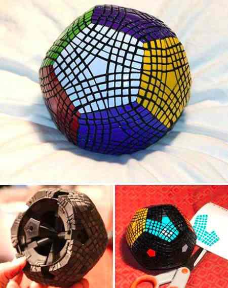 Самый сложный кубик Рубика