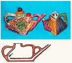 """""""Умные"""" чайники московского художника Дмитрия Широкова. За один наклон наполняется точно одна чашка."""