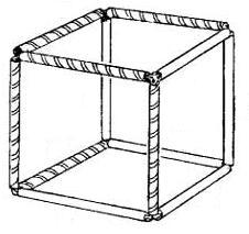 Двухцветный куб