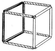 Трёхцветный куб