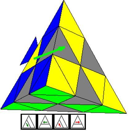 Как собрать треугольный рубик схема фото 109
