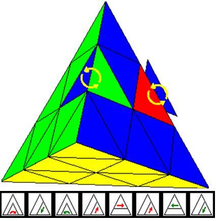 Как собрать пирамидку рубика